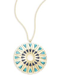 House of Harlow 1960 - Mosaic Pendant Necklace - Lyst