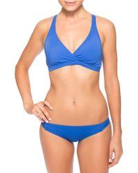 Oakley Core Solids Twist Front Bikini Top