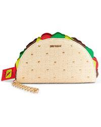Betsey Johnson - Taco Wristlet - Lyst