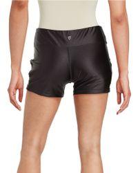 Betsey Johnson - Active Cutout Shorts - Lyst