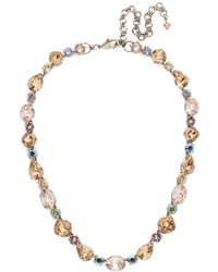 Sorrelli - Mirage Narcissus Crystal Necklace - Lyst