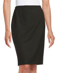 Marc New York - Pinstriped Pencil Skirt - Lyst