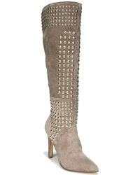 Fergie - Danica Suede Tall Boots - Lyst