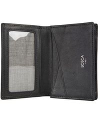 Bosca - Nappa Vitello Card Case - Lyst