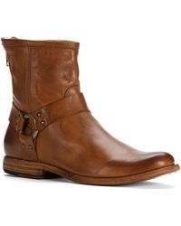 Frye - Phillip Harness Leather Boots - Lyst