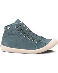 Palladium Canvas Flex Lace Sneakers