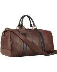 Polo Ralph Lauren - Two-toned Leather Duffel Bag - Lyst