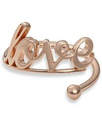 ALEX AND ANI - Love Wrap Ring - Lyst