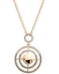 Judith Jack - Marcasite & Sterling Silver Pendant Necklace - Lyst
