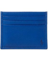 Polo Ralph Lauren - Italian Leather Card Case - Lyst