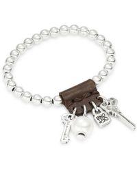 Ruby Rd. - Man Beaded Charm Bracelet - Lyst