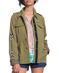 Plenty by Tracy Reese - Cotton-blend Utility Jacket - Lyst