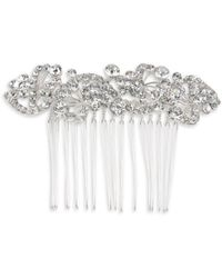 Cara - Stone-accented Floral Hair Comb - Lyst