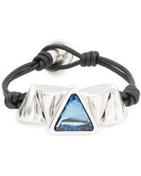Ruby Rd. - Keita Geometric Accented Bracelet - Lyst