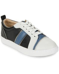 Botkier - Harvey Colorblocked Leather Trainers - Lyst