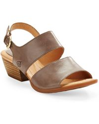 Born - Ahna Buckle Sandals - Lyst