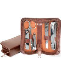 Royce - Executive Chrome-plated Mini Manicure Kit - Lyst