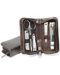 Royce - Leather Mini Manicure Kit - Lyst