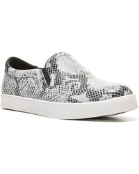 Dr. Scholls - Original Scout Snake Printed Leather Trainers - Lyst