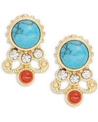 Nanette Lepore - Embellished Stud Earrings - Lyst