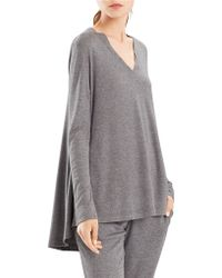 N Natori - Long Sleeve Relaxed-top - Lyst