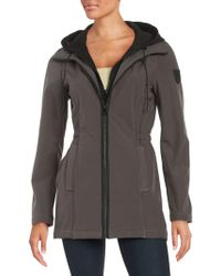 Vince Camuto - Zip-front Jacket - Lyst