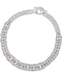 Lauren by Ralph Lauren - Double Curb Chain Necklace - Lyst