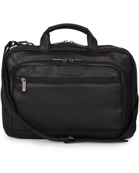 Kenneth Cole Reaction - Colombian Leather Point Of De-port-ure Computer Portfolio- 16 In. - Lyst
