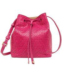 Lodis - Palma Blake Small Drawstring Leather Bucket Bag - Lyst