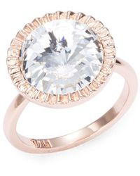 Ted Baker - Stone Accented Statement Ring - Lyst
