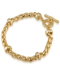 Lauren by Ralph Lauren - 12k Goldplated Braided Bracelet - Lyst