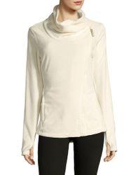 Bench - Asymmetrical Fleece Jacket - Lyst