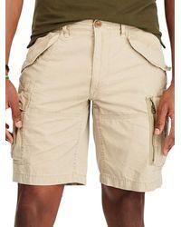 Lauren by Ralph Lauren - Cotton Ripstop Shorts - Lyst