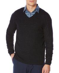 Perry Ellis - Regular-fit Long Sleeve Pullover - Lyst