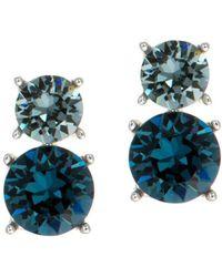 Anne Klein - Swarovski Crystal Drop Earrings - Lyst