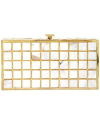 Natasha Couture - Ivy Pearl Seashell Convertible Clutch - Lyst