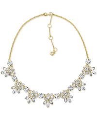 Marchesa - Crystal Necklace - Lyst