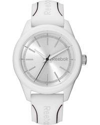 Reebok - Silicone Strap Round Case Watch - Lyst