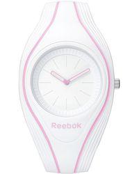 Reebok - Serenity White Dial Analog Watch - Lyst