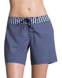 Prana - Makenna Patterned Boardshorts - Lyst