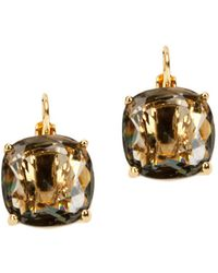 Kate Spade - Gold-plated Faceted Stud Earrings - Lyst
