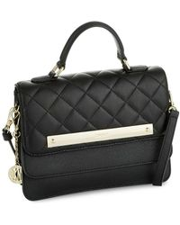 DKNY - Quilted Leather Handbag - Lyst