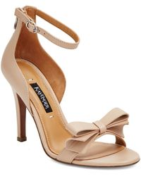 Kay Unger - Baroque Leather Heels - Lyst