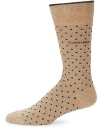 CALVIN KLEIN 205W39NYC - Pin Dot Crew Socks - Lyst