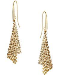 Swarovski - Fit Small Pierced Earrings - Lyst