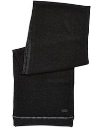 John Varvatos | Wool And Cashmere Knit Scarf | Lyst
