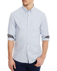 Kenneth Cole - Long Sleeve Dress Shirt - Lyst
