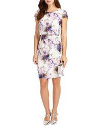 Phase Eight - Effie Printed Dress - Lyst