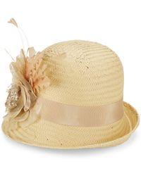 Kathy Jeanne - Basket Weave Bucket Hat - Lyst