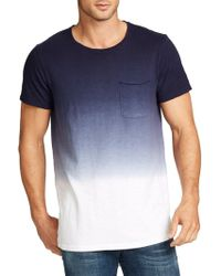 William Rast - Jim Ombre Cotton Tee - Lyst